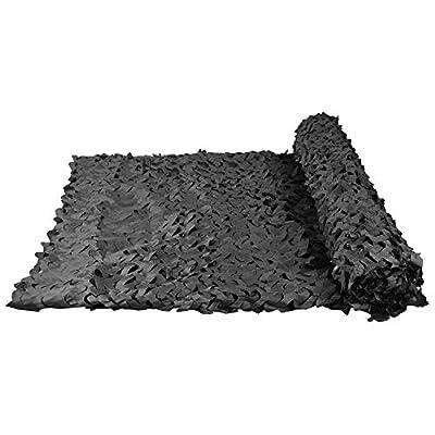 HWhome Tarnnetz, Sun Mesh Sunscreen Shade Markise Netting, Zeltstoff Plane Segel, Geeignet für Sonnenschirm-Gartendekoration, Schwarze Farbe, Mehrere Größen von HWT bei Gartenmöbel von Du und Dein Garten