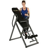 Fitness Reality 690XL Table d'inversion avec coussins de dos, pour personnes de grande taille jusqu'à 1,98 m, poids maximum utilisateur 136 kg, inversion verticale complète jusqu'à 180 degrés