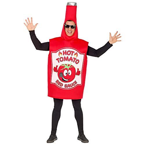 Tomaten Ketchup Kostüm - Widmann - Erwachsenenkostüm Ketchup