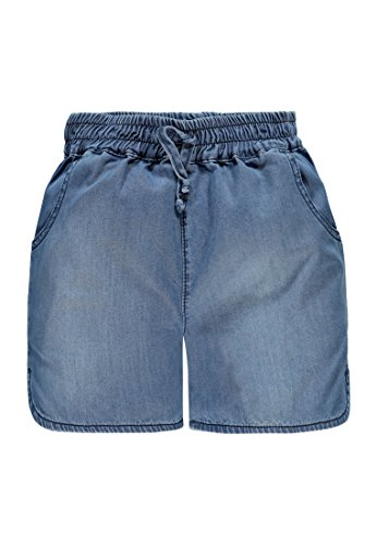 Marc O' Polo Kids Mädchen Bermuda Shorts Blau (Light Blue Denim 0014) 104