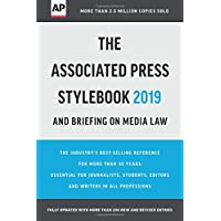 The Associated Press Stylebook 2019: and Briefing on Media Law