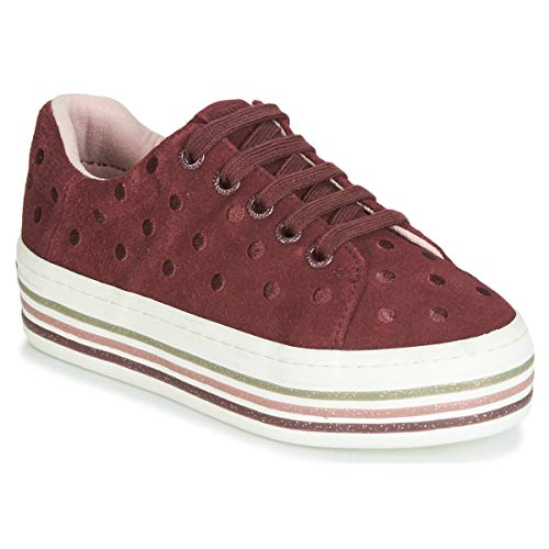 Gioseppo FUSSEN, Zapatillas para Niñas, Rojo Burdeos, 37 EU