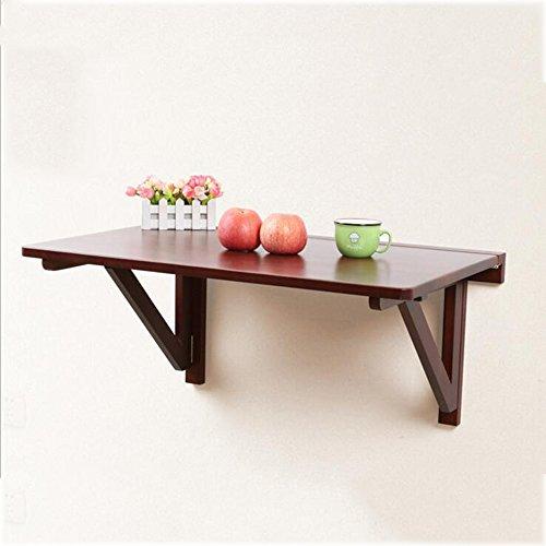 Tische MEIDUO Klapptisch Massivholz Klapptisch Wandbehang Mehrere Größen Computertisch (Farbe :...