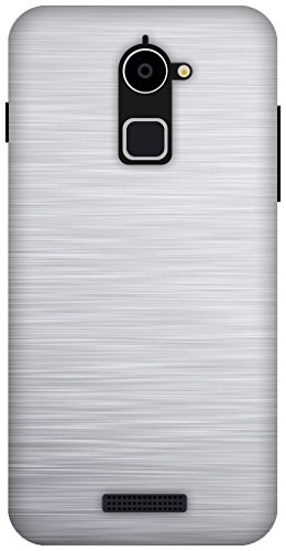 The Racoon Lean SIMPLE BRUSHED METAL hard plastic printed back case / cover for Coolpad Note 3 Lite