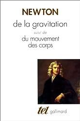 De la gravitation, du mouvement des corps