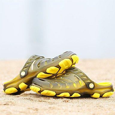 Slippers & amp da uomo;Estate Hole scarpe leggere suole in PVC scarpe casual Tallone piano Outdoor Water S sandali US8.5-9 / EU41 / UK7.5-8 / CN42