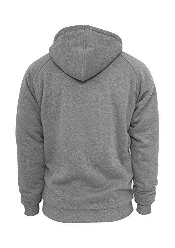Urban Classics Urban Classics Winter Zip Hoody Kapuzensweatjacke braun (brown) Grey