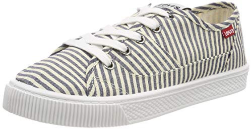 Levi's Levis Footwear and Accessories Damen Malibu S Sneaker, Blau (Navy Blue 17), 38 EU