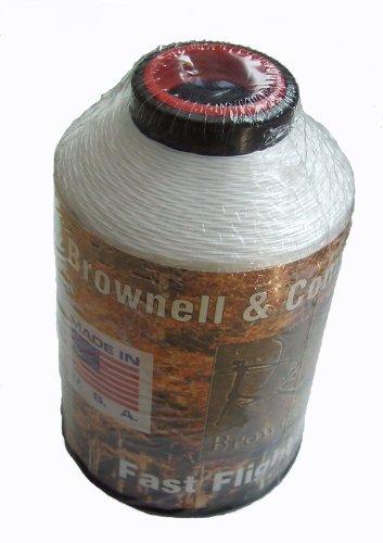 New Brownell Tir à l'arc rapide Vol plus Bow cordes Matériel 1/4 de livre 100% HMPE Blanc