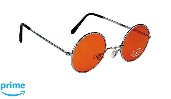 Party Pro 871119 Hippy Orange Goggles Mulit Colour
