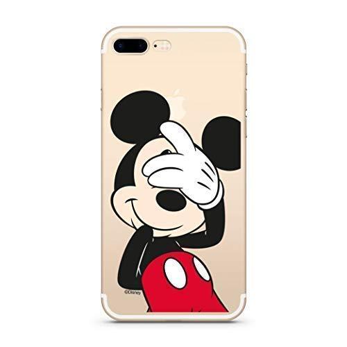 Finoo Hülle für iPhone 7 Plus / 8 Plus - Disney Handyhülle mit Motiv und Optimalen Schutz TPU Silikon Tasche Case Cover Schutzhülle - Mickey Mouse