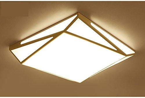 SXZJ Creative geometría moderna LED luz de techo ,60cm-48W- sin atenuación de polaridad