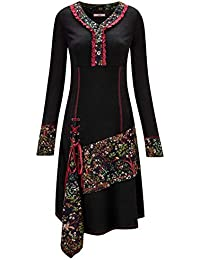 Joe Browns Womens Wide Sleeve Dress with Floral Pattern