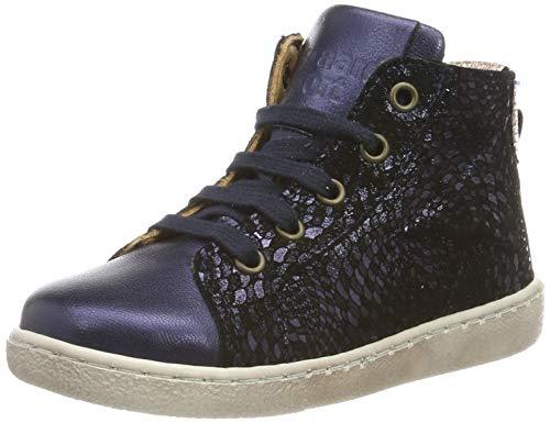 Bisgaard Mädchen Gaia Hohe Sneaker, Blau (Navy Swirl 614), 34 EU -