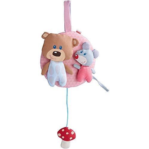 Haba Selection 7166 Spieluhr Kuschelfreunde, rosa
