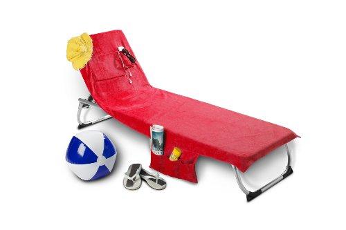 Das Original! Strandtasche um Strandtuch 2 in 1 Beachbag Rot