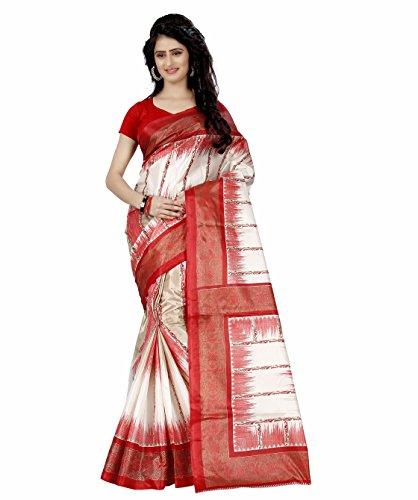 Raa Retail Women's Raw Silk Saree With Blouse Piece (Tz_1041,Multicolor,Free Size)