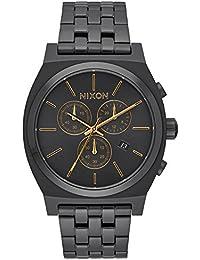 Nixon Unisex-Armbanduhr Analog Quarz Edelstahl A9721031