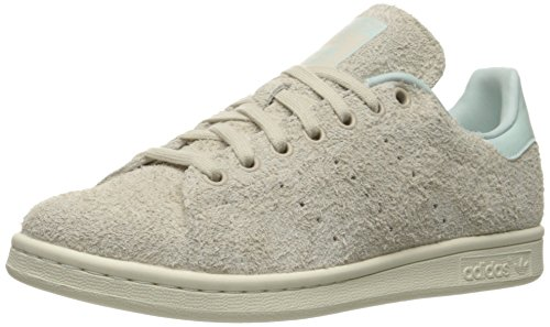 Adidas Womens Stan Smith Leather Trainers Cbrown/Cbrown/Vapgrn