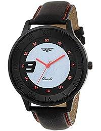 ASGARD Trendy Black Dial Watch for Men, Boys-153-BKFT