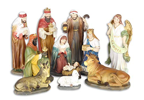 Creation Gross-Figuras de belén de pintadas a Mano Altura Aprox.