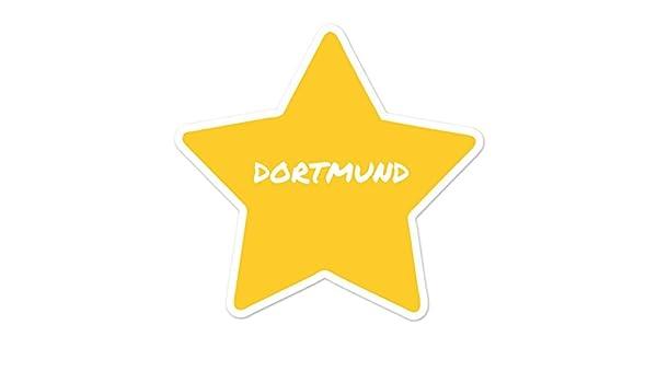 Dortmund JOllify Aufkleber Design Ortsschild Farbe Computer ...