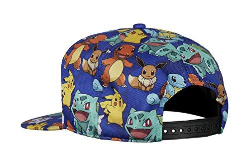 Imagen de bioworld   multicolor de pikachu  ajustable azul alternativa