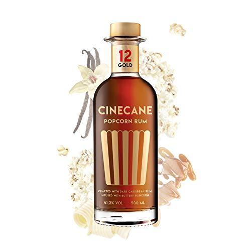 CINECANE Popcorn Rum Gold - Destilliert mit echtem Popcorn