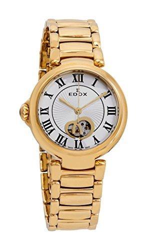 Edox Women's 85025 37RM ARR LaPassion Analog Display Swiss Automatic Rose Gold Watch