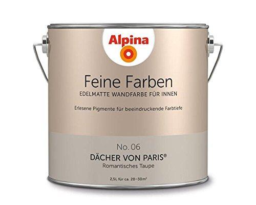 Alpina Edelmatte Wandfarbe für Innen