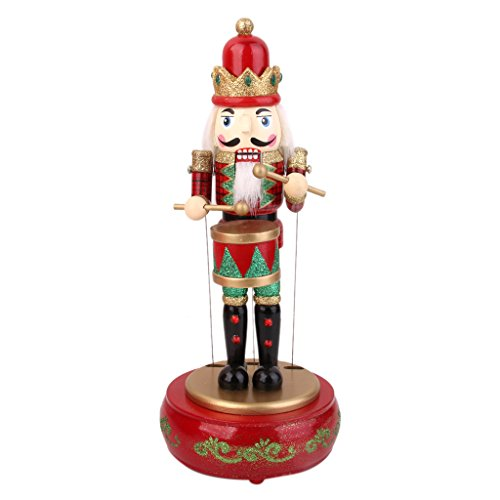 Casse Noisette en Bois écossais Figurine Soldat Collection Enfant Adulte Motif 3