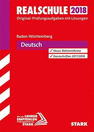 Original-Prüfungen Realschule - Deutsch - BaWü