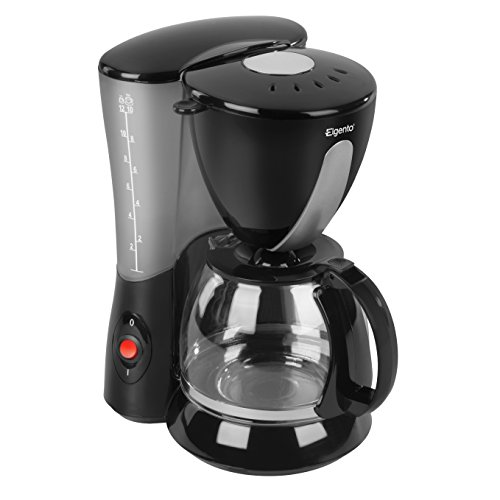 41DMe90szyL. SS500  - Elgento E13007 10 Cup Coffee Maker, 750 W, Black