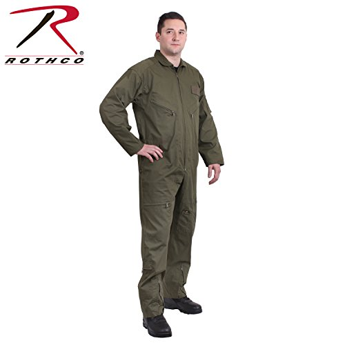 Rothco Air Force Stil Flight Suit 7500 grün Olive Drab 5X Big (Olive Drab Rothco Herren)