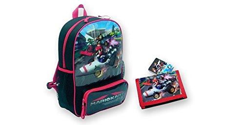 Preisvergleich Produktbild Nintendo Mario Kart DS Rucksack und Geldbörse