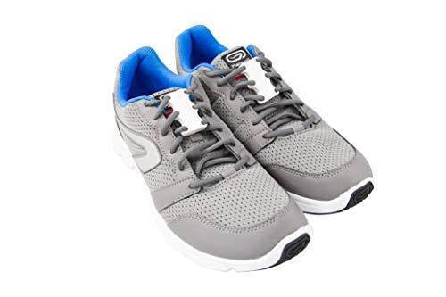 SOKOFIT - Cierre imantado para zapatos - Sin atarse los cordones, para niños y adultos, zapatos y bambas. (Infantil, Blanco)