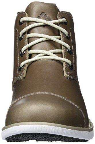Columbia Herren Irvington LTR Chukka WP Boots Grau (Kettle/ White)