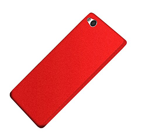 Deesos ZTE Nubia N2 Hülle Ultra Slim Weich TPU Schrubben Kompletter Schutz Gestein Sand Komfortabel Gefühl Hülle für Nubia N2 Rot