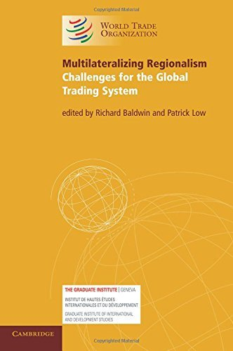 Multilateralizing Regionalism: Challenges for the Global Trading System (2009-03-23)