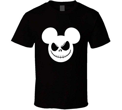 Mickey Mouse Nightmare Christmas Jack Skellington Funny Halloween Costume Cool T Shirt