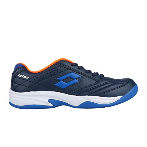 Lotto Herren Court Logo VIII Si Tennisschuhe Blau Avi/Blu Pcf 001), 44 - Tennisschuhe Lotto