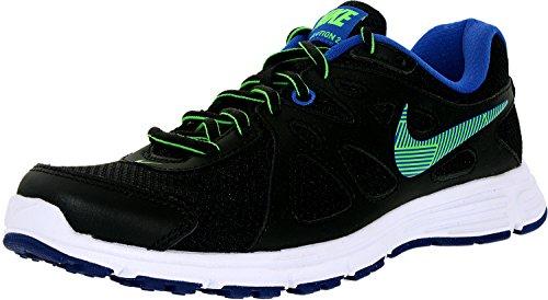 Nike Damen Wmns Revolution 2 Laufschuhe, Talla black green strike game royal white 033