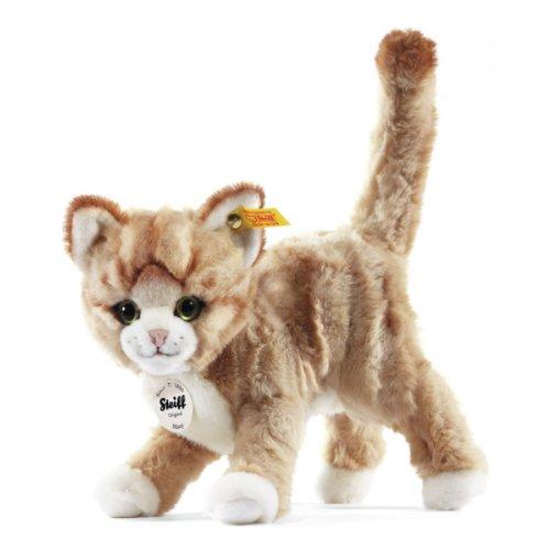 Preisvergleich Produktbild Steiff 099342 - Mizzy Katze gestromelt stehend, 25 cm, blond