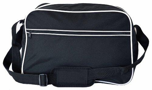 Eurobags Messengerbag, in 10 Farben Schwarz - Schwarz