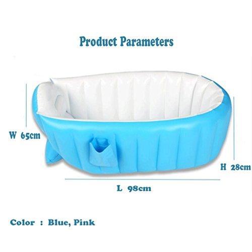 Baignoire gonflable bébé épaississement isolation nouveau-né bain enfants en bas âge, enfants, enfants, baignoire gonflable Protection de l'environnement 6P matériel ne contient pas de métaux lourds