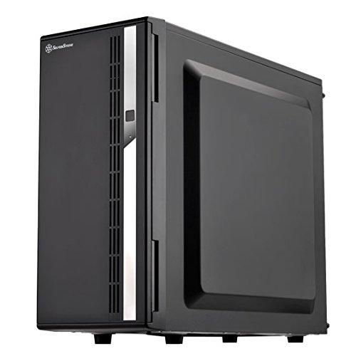 SilverStone SST-CS380 - Case Storage ATX Midi Tower-Gehäuse, mit Fronttür, 8x 3.5