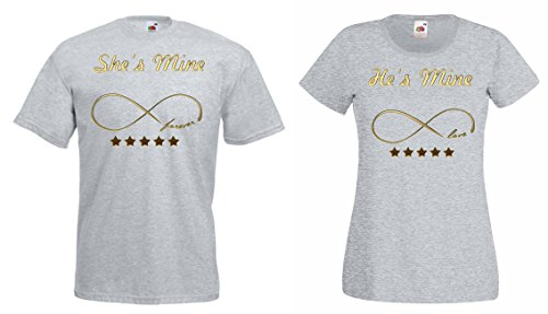 Farben Grau. TRVPPY Partner Herren + Damen T-Shirts