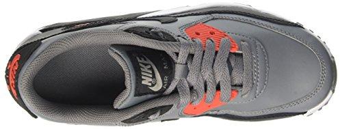 Nike Air Max 90 Ltr Gs, chaussure de sport garçon Gris (Cool Grey/black/max Orange/whi)