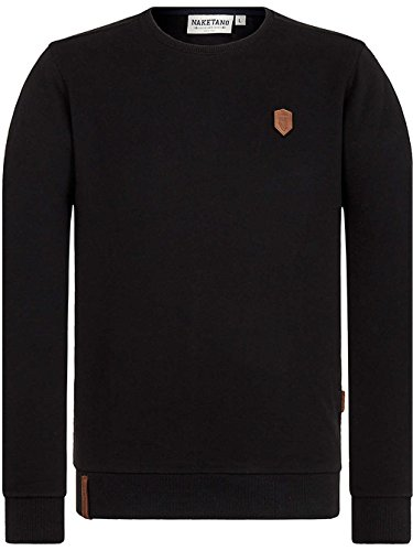 Naketano Male Sweatshirt MC satzbau Black