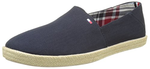 Tommy Hilfiger G2285ranada 2d_1, Men's Espadrilles, Blue (Midnight), 8 UK (42 EU)